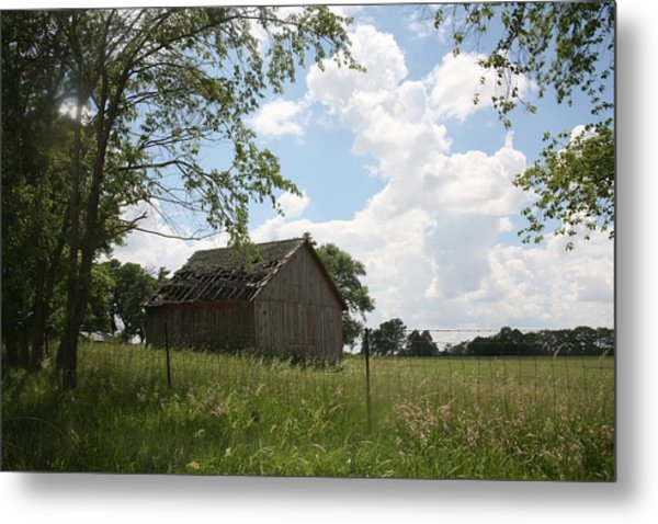 Barn Near Centralia Missouri Metal Print