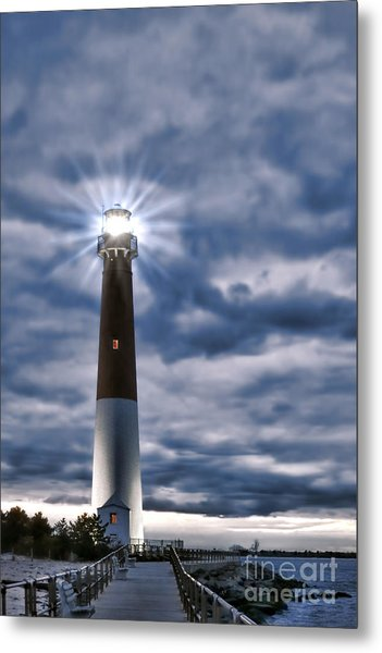 Metal Print featuring the photograph Barnegat Magic by Olivier Le Queinec