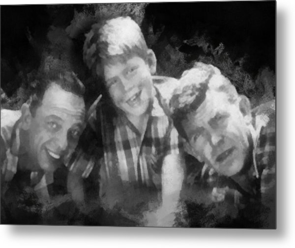 Barney Opie And Andy Metal Print