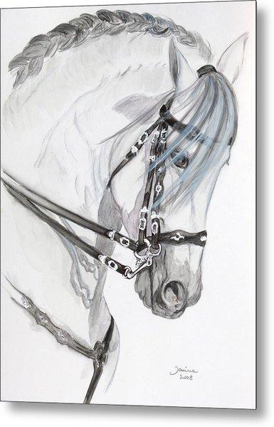 Baroque Horse Metal Print