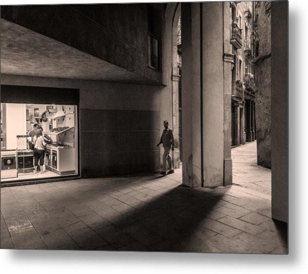 Barri Del Born, Barcelona Metal Print