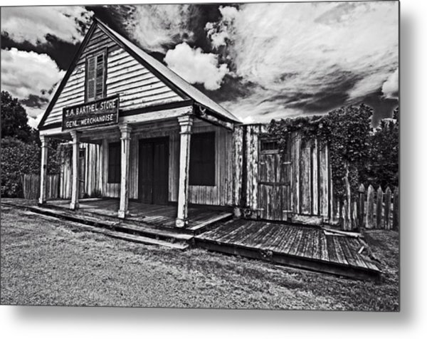 Barthel General Merchandise Store Metal Print