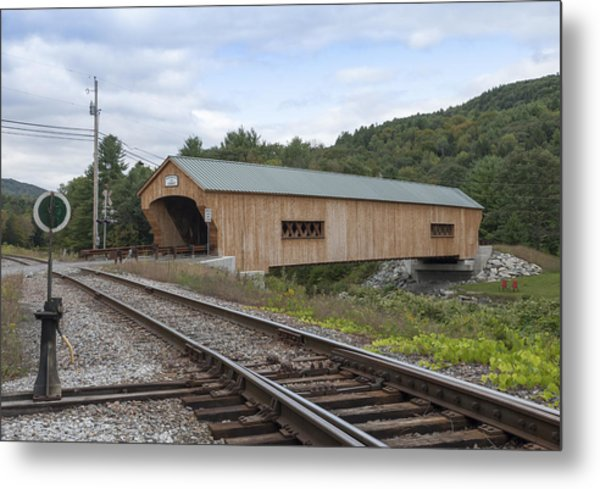 Bartonsville Covered Bridge - 2013 Metal Print