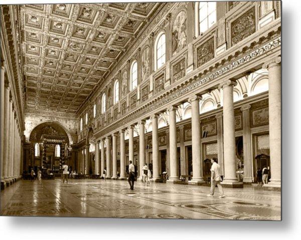 Basilica Di Santa Maria Maggiore Metal Print