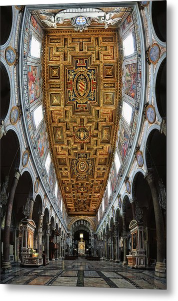 Basilica Di S.maria In Aracoeli Metal Print