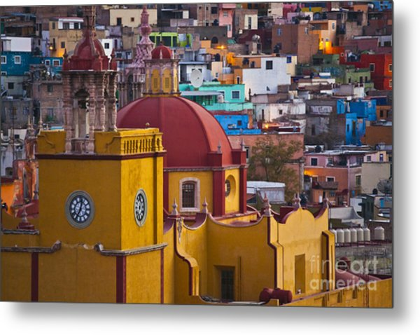 Basilica Of Our Lady Of Guanajuato Mexico Metal Print