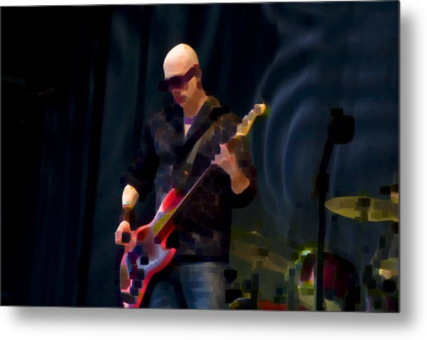 Bass  Guitar Metal Print by Tony Reddington