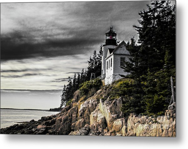 Bass Harbor 2 Metal Print