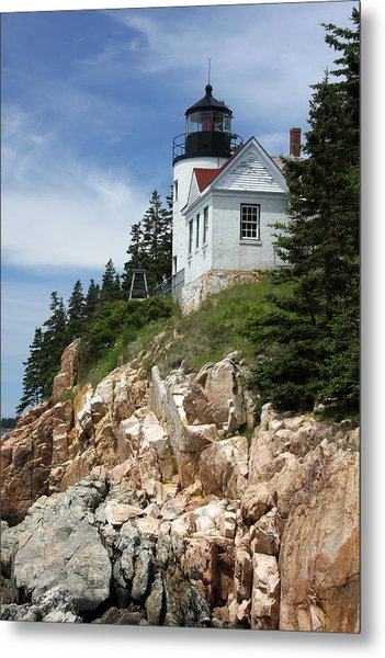 Bass Harbor Light Metal Print by Acadia Photography