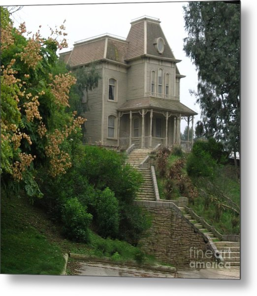 House Of Norman Bates Metal Print