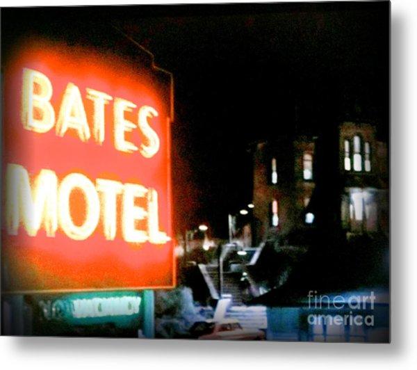 Bates Motel Vacancy Metal Print