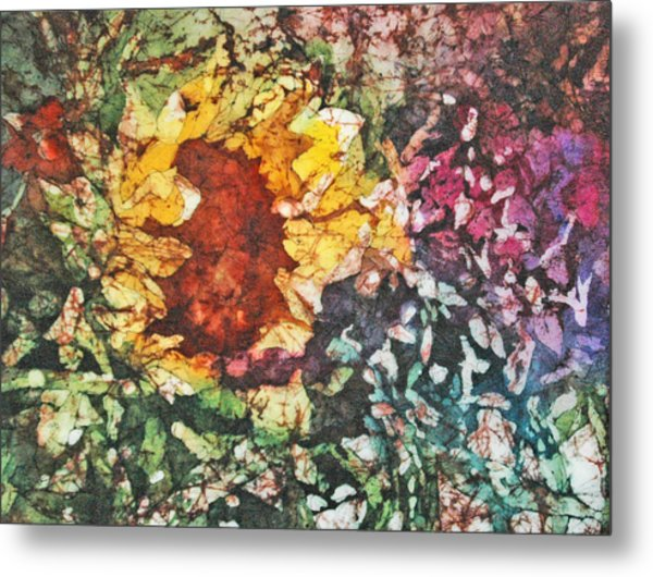 Sunflower Surprise Metal Print