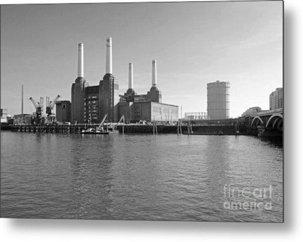 Battersea Power Station Metal Print