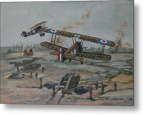 Battle Of Amiens Metal Print