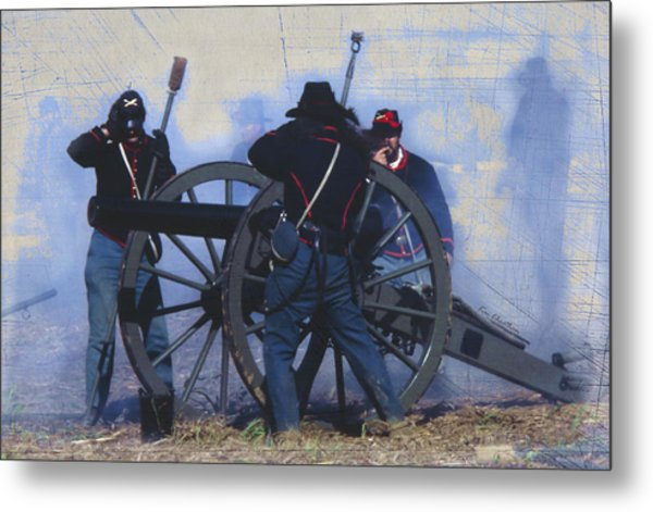 Battle Of Franklin - 1 Metal Print