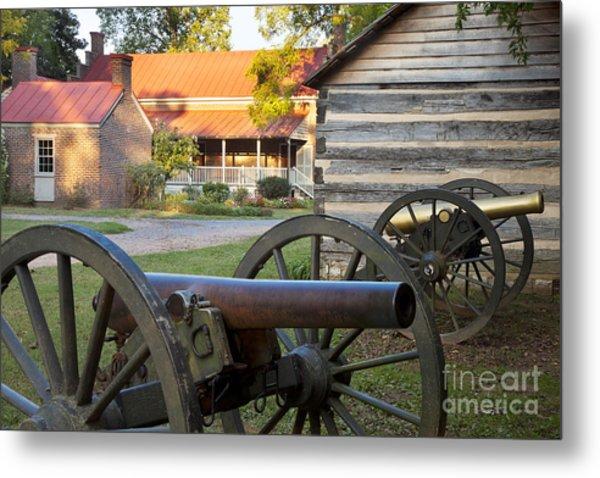 Battle Of Franklin Metal Print