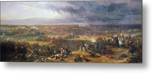 Battle Of Waterloo, 1815, 1843 Metal Print