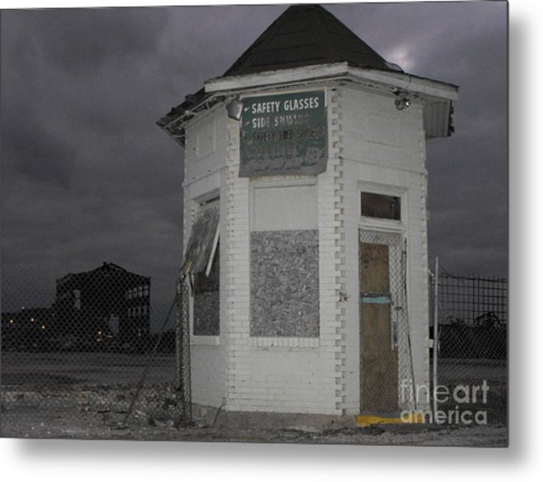 Bay City American Hoist Guard House Metal Print