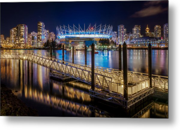 Bc Place Metal Print by Alexis Birkill