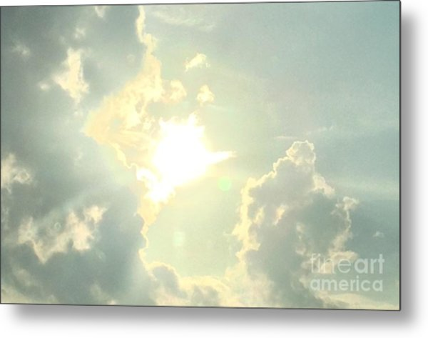 Be Bright Metal Print by Michelle Bentham