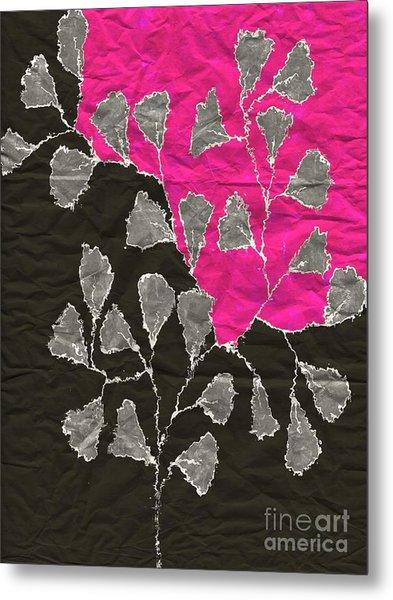 Be-leaf - Pink 03-01at4 Metal Print