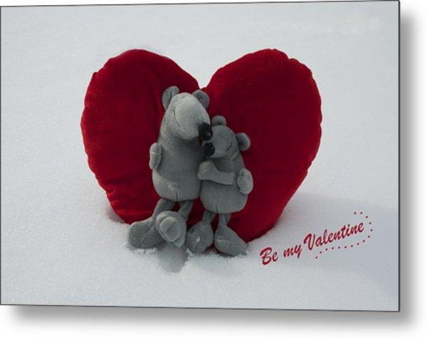 Be My Valentine  Metal Print by Nicole Markmann Nelson