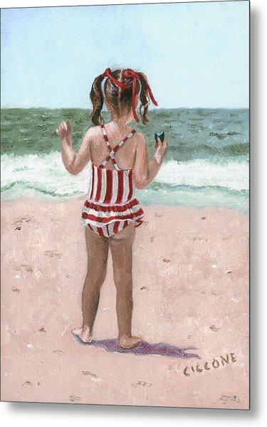 Beach Buns Metal Print