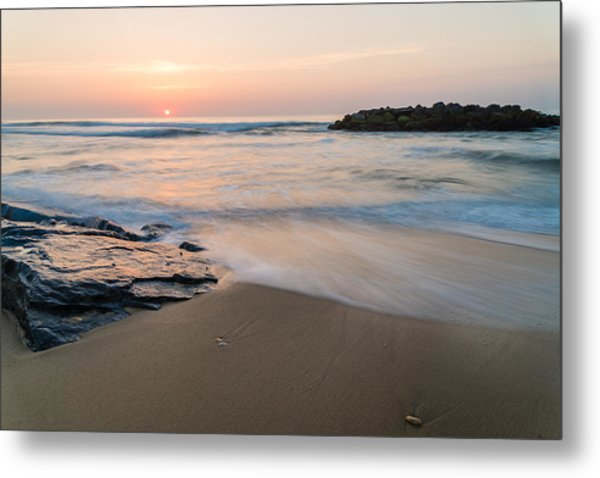 Beach Day Metal Print