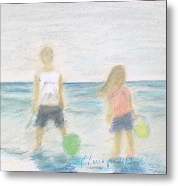 Beach Dreams Metal Print by E Carrington