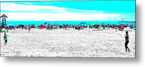 Beach Fun 1 Metal Print