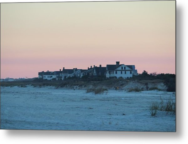 Beach Houses Metal Print