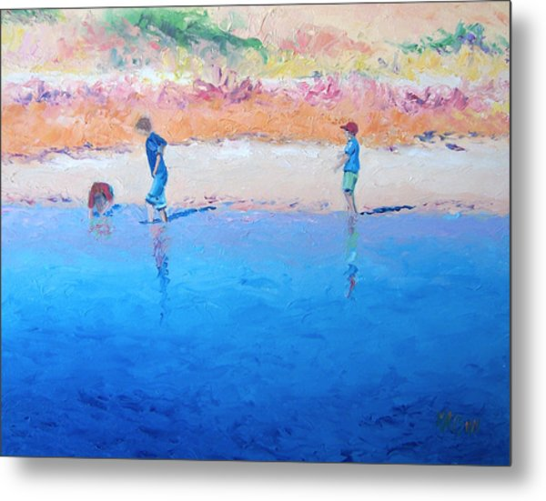 Saturday Afternoon At The Beach Metal Print
