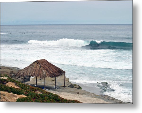 Beach Shack Metal Print
