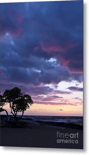 Beach Sunset Metal Print by Karl Voss