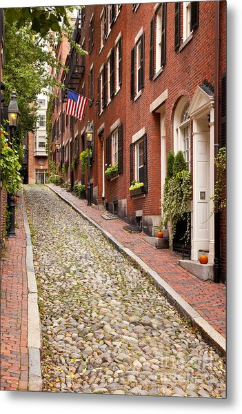 Metal Print featuring the photograph Beacon Hill by Brian Jannsen