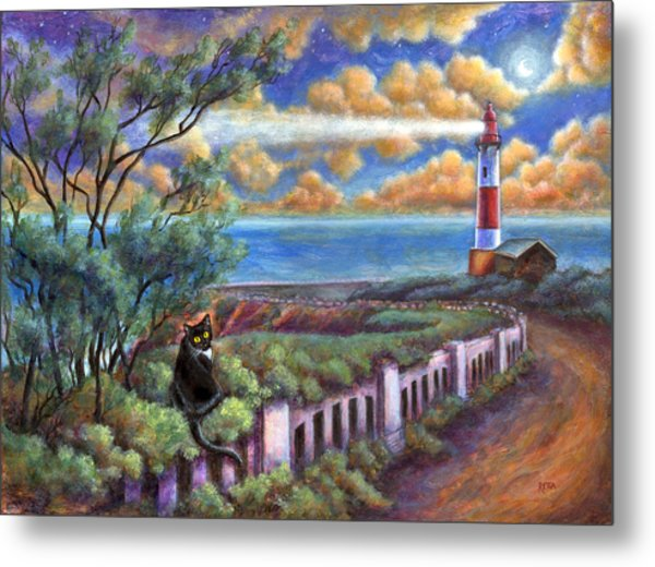 Beacons In The Moonlight Metal Print