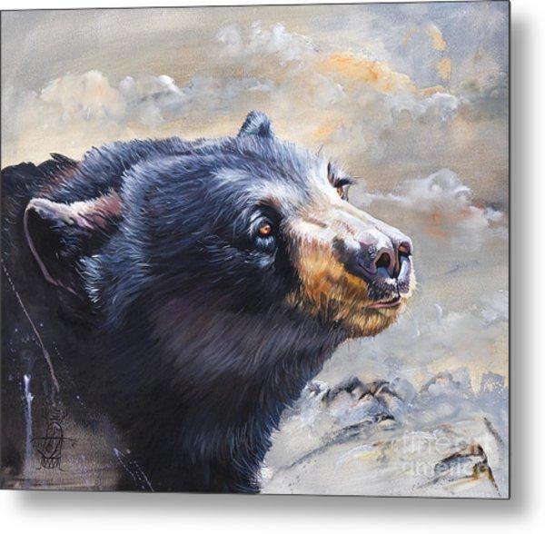 Four Winds Bear Metal Print