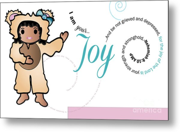 bear fruit -Joy Metal Print by Affini Woodley