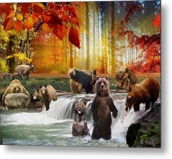Bear Heaven Metal Print