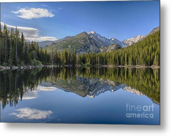 Bear Lake Reflection Metal Print