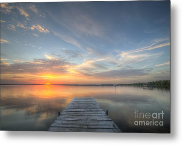 Bear Lake Sunset Metal Print by Twenty Two North Photography