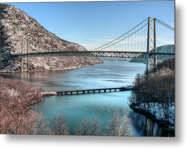 Bear Mountain Bridge Metal Print by JC Findley