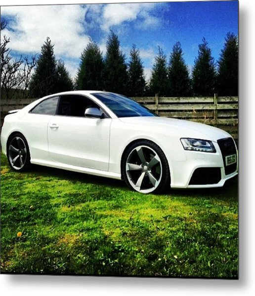 #beast #amazing #favourite #car #audi Metal Print