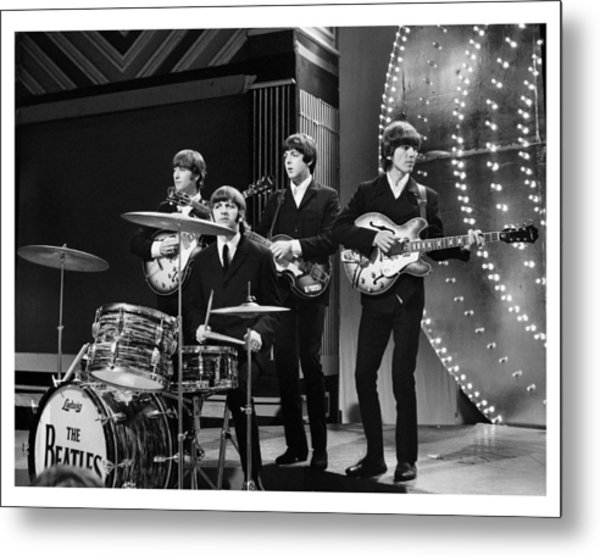 Beatles 1966 Limited Edition Metal Print