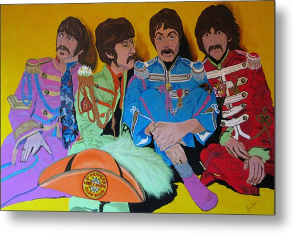 Beatles-lonely Hearts Club Band Metal Print