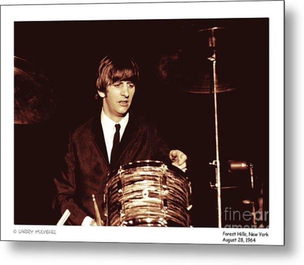 Beatles Ringo Color Metal Print