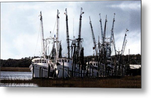 Beaufort Fleet Metal Print