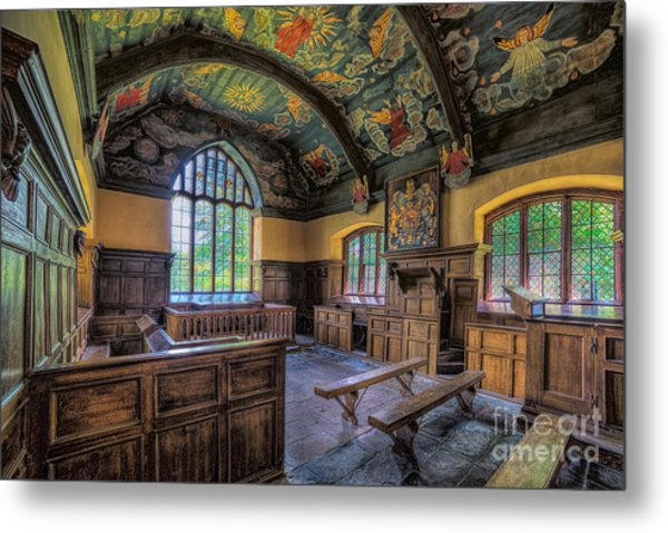 Metal Print featuring the photograph Beautiful 17th Century Chapel by Adrian Evans