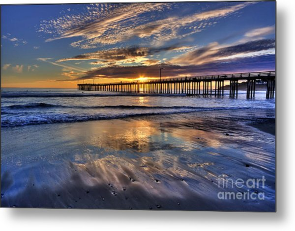Beautiful Cayucos Metal Print