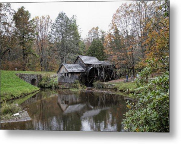 Beautiful Historical Mabry Mill Metal Print